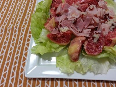 いちじくのサラダ <br>Fig salad