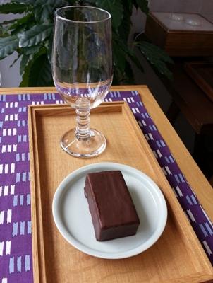 本日のお菓子 <br>Today's sweet