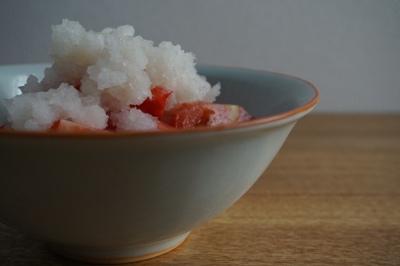 夏のさっぱりメニュー <br>Light dish for summer