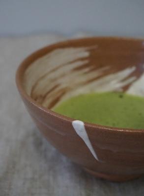 抹茶でビタミン補給 <br>Vitamin charge by Matcha