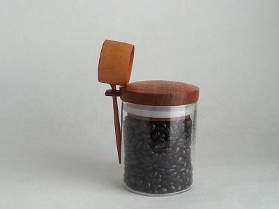田澤祐介さんのコーヒーキャニスター <br>Coffee canister made by TAZAWA Yusuke