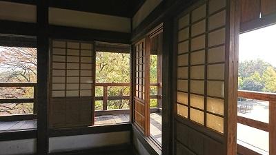 岡山城の月見櫓 <br>Tsukimi-yagura of Okayama Castle